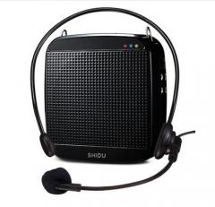 现货隔日达 十度(ShiDu)SD-S512 18瓦大功率 小蜜蜂扩音器教学导游  货号016.LG3079 经典黑