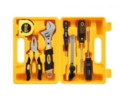 现货隔日达 得力(deli)3700 多功能组合家用工具箱/工具套装 7件套  货号016.LG3109