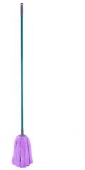 妙洁雅墩布超细纤维拧干拖圆头墩布拖地头毛巾布吸水布条拖把 10把/组 货号099.C039