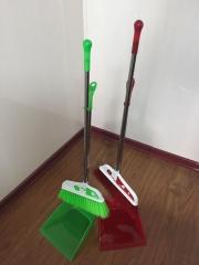 笤帚簸箕套装  居家塑料扫把家用地板笤帚组合软毛笤帚10个/组 货号099.C041