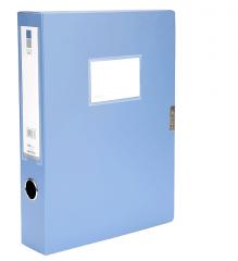 现货隔日达 爱好档案盒文件资料盒 A4办公文具2380蓝色35mm 12/组 货号016.LG3185 35mm