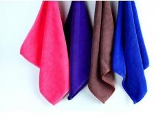 小方巾超细纤维纳米毛巾擦手 超强吸水不掉毛 30条/组 颜色随机发 货号099.C046