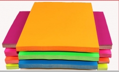现货隔日达 A4彩色打印色纸 粉红黄绿蓝 手工折纸彩纸 货号016.LG3195