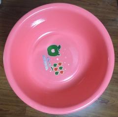 加厚脸盆 洗衣盆家用大号洗菜盆塑料盆子10个/组 货号099.C059