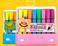 幼儿园专用水彩笔 油画棒 记号笔 铅笔 彩泥 系列 货号016. LG3090SANYOU
