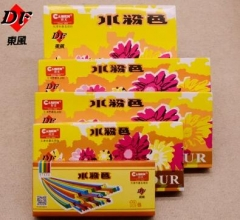 东风正品水粉画颜料12色18色24色学生绘画颜料  3盒/组  货号888.CH(lg)8