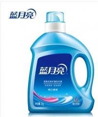 非现货7日达   蓝月亮洗衣液2kg 亮白增艳机洗薰衣草 货号016.LG3317