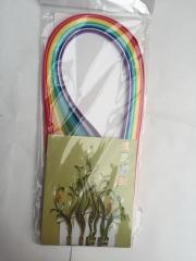 现货隔日达   手工折纸卷纸画材料彩色纸条0.5cm衍纸12色 一色十条  10包/组 货号016.