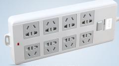 宝克插座插排拖线板家用多孔电源接线板8插位货号099.C0115
