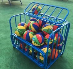 球车球框 球类收纳车手推装球车篮球框 置球架装球车  货号016.LG3538