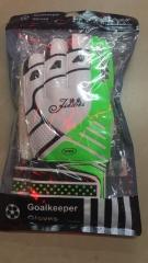 足球守门员手套足球门将手套护具 专业乳胶防滑  货号016.LG3684