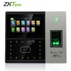 现货 次日达 中控ZKTeco IFace702 指纹 人脸考勤机 货号015.L1