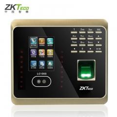 现货 次日达 中控ZKTeco LC1000指纹面部考勤机 货号015.L10