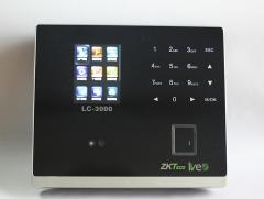 现货 次日达 中控ZKTeco LC3000 面部指纹考勤机  货号015.L51