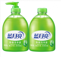 蓝月亮 芦荟洗手液500g/瓶+500g/瓶*6套 货号065.DX825
