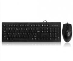 双飞燕(A4TECH)防水有线键鼠套装KR-8572N USB电脑通用接口货号:888.ZL46