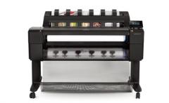 现货隔日达 惠普(HP)Designjet T1530 6色36英寸绘图仪 双卷筒 货号888.LRD