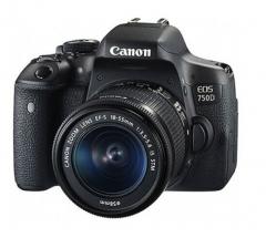 佳能 Canon EOS 750D 单反套机 (EF-S 18-135mm镜头) 货号:888.ZL