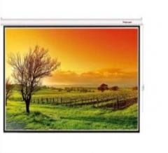 红叶100英寸 电动 投影幕布4:3 含遥控含安装 货号:888.ZL