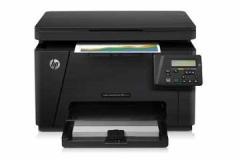 惠普(HP) 打印机 M176n/M180N/181FW/177FW 彩色激光一体机 标配M176N货号888.AiJS