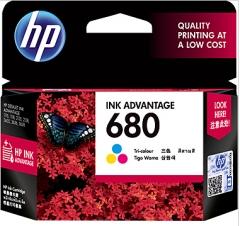 惠普HP 680 号 Ink Advantage 彩色墨盒 标准容量 货号:888.ZL