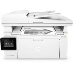 惠普(HP)LaserJet Pro MFP M132fw黑白激光打印复印扫描传真多功能一体机 货号:888.ZL