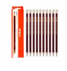 晨光HB木杆铅笔六角红黑抽条AWP30802 货号888.CH016 1个