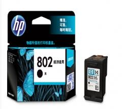 惠普HP 802 s号黑色墨盒 标准容量(适用:HP Deskjet 1000 1010)货号:888.ZL
