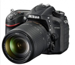 尼康 Nikon 单反 D7200 (AF-S DX 18-105mm f/3.5-5.6G ED VR)镜头货号888.LB
