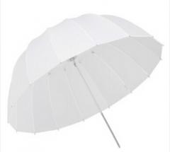 鑫威森 半透明抛物线伞16杆纤维伞骨 柔光摄影器材 85cm深口柔光伞