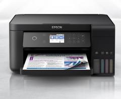 爱普生(EPSON) L6168 A4全新彩色商用多功能一体机 (打印 复印 扫描 wifi 有线 自动双面)货号888.LB156