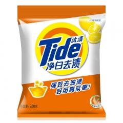 汰渍 Tide 净白去渍洗衣粉 260g/袋 20袋/箱 货号100.XH365