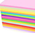 得力(deli)7391-A4 彩色复印纸 打印纸 手工纸 彩纸    货号888.LB