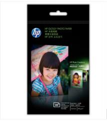 惠普高光相纸  喷墨打印机照片纸规格CG850A CG851A A6相纸 CG851a(180g 20张/包)    货号888.LB