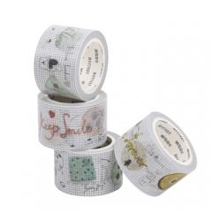 晨光(M&G)AJD95727 甜甜圈手工手撕手账和纸胶带30mm*10m4卷装   货号888.CH