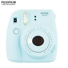富士(FUJIFILM)INSTAX 一次成像相机 MINI8相机 粉 超值套餐(10张胶片)  货号100.ZD548 蓝色
