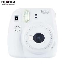 富士(FUJIFILM)INSTAX 一次成像相机 MINI8相机 粉 超值套餐(10张胶片)  货号100.ZD548 白色