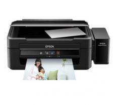 爱普生(EPSON)L383 墨仓式彩色喷墨照片多功能打印机一体机连供 打印 复印 扫描货号888.LB