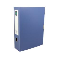 得力档案盒 5604 蓝色 A4 4寸 75mm    货号888.hc