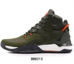 (金佰大体育)阿迪达斯男鞋新款2017秋季新款罗斯7代全掌boost耐磨篮球鞋BB8213 货号069.Y80