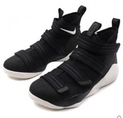 (金佰大体育)耐克篮球鞋2017秋新款LeBron Soldier詹姆斯战士11战靴 货号069.Y82