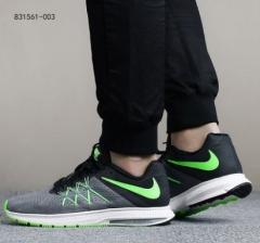 (金佰大体育)Nike耐克男鞋2017秋季AIR ZOOM运动鞋飞线气垫跑步鞋 货号 069.Y90