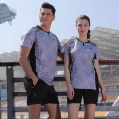 (金佰大体育)速鹰运动T恤 男女同款 男女羽毛球服 运动休闲服装 货号069.Y166