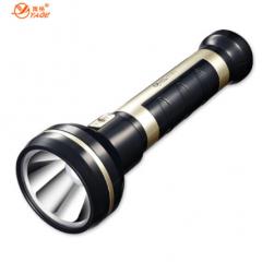 雅格手电筒应急手电筒LED黑金刚野外照明灯300米远射程  JC.181