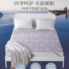 九洲鹿 床垫软垫舒适透气床垫四季保护垫子床褥子1.2米床 (120*200cm) BC.002