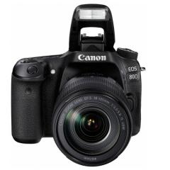 佳能(Canon)EOS 80D 单反套机(EF-S 18-135mm f/3.5-5.6 IS USM镜头)ZX.030
