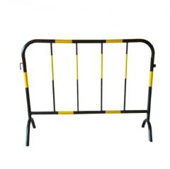 交通施工安全围栏 市政公路隔离栏安全临时铁艺护栏(长1.5m*高1m )  JC.268