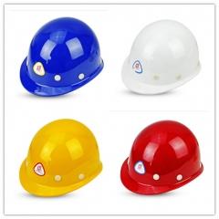 普达安全帽工地防砸帽工程施工帽 盔式玻璃钢(白色)  JC.293