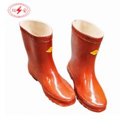双安 绝缘短靴 电工鞋 防护鞋防触电鞋25KV (41#)  JC.346