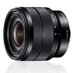 索尼(Sony) E 10-18mm F4 OSS(SEL1018) APS-C画幅恒定光圈广角变焦微单相机镜头 E卡口  ZX.064